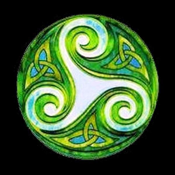 <3 Espiral Tripla Celta: espirais simbolizam o equilíbrio do universo dentro de nós, i.e, o equilíbrio espiritual interior e a consciência exterior. Espiral tripla ou Tríscele/triskelion (τρισκέλιον) é formado por 3 espirais entrelaçadas ou 3 pernas humanas flexionadas ou por 1 desenho similar com a ideia de simetria rotacional. O tríscele é o símbolo identificativo de 4 nações europeias: Bretanha, Ilha de Man,Galiza e Sicília e é usado nas bandeiras de Ust-Orda Buriátia, Ilha de Man e…