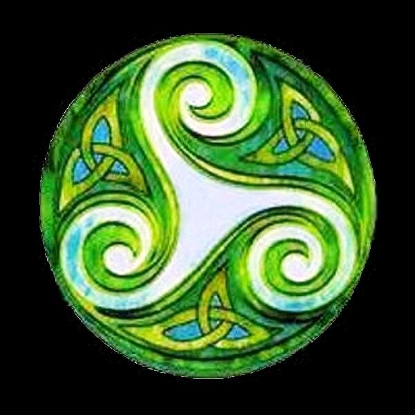 <3 Espiral Tripla Celta: espirais simbolizam o equilíbrio do universo dentro…