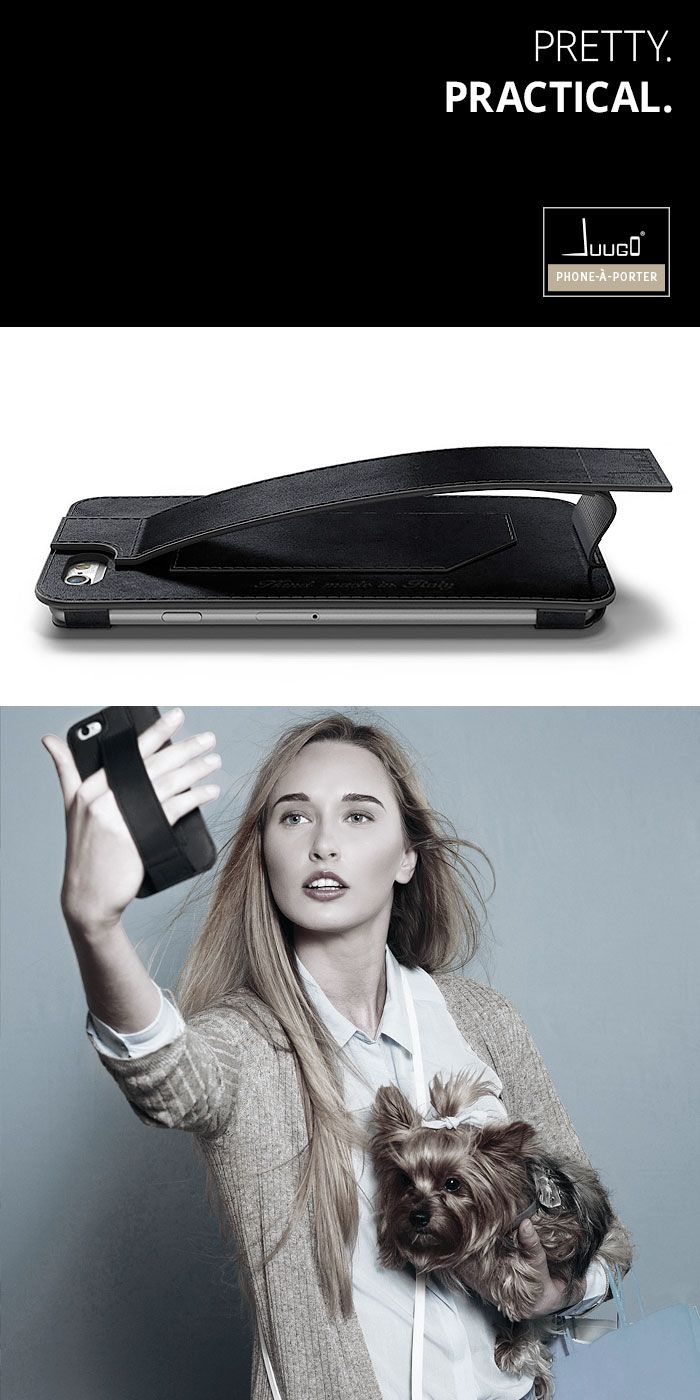 Juugo: phone-à-porter. The super practical leather smartphone case with a handle and a card pocket. ……………………………….. #iphone cover #samsung #handles #hand-made #made in Italy #designed in London #super practical #fashion #style #leather phone case #card holder