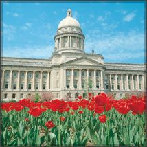 Kentucky State Capitol-Frankfort