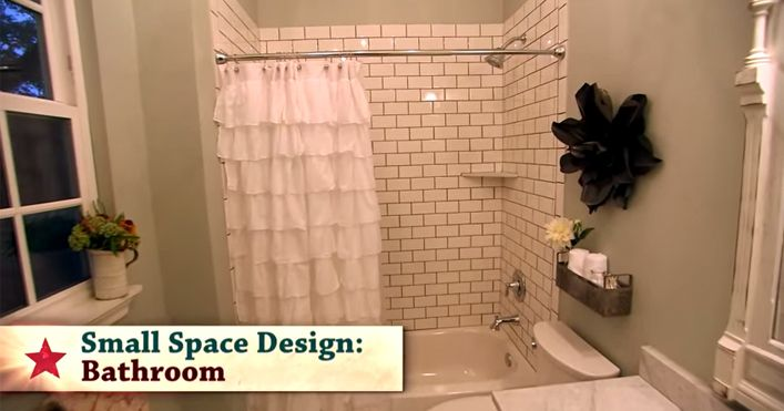 36 best images about bathroom on pinterest double shower - Fixer upper long narrow bathroom ...