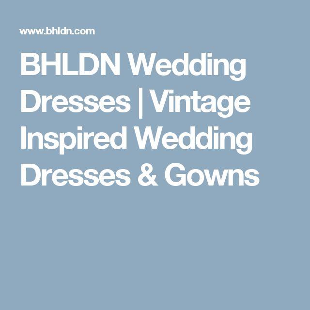 BHLDN Wedding Dresses   Vintage Inspired Wedding Dresses & Gowns