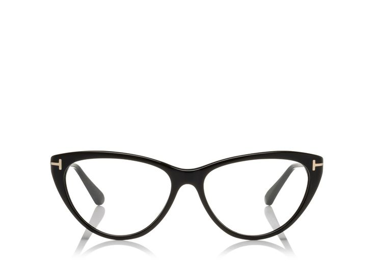 Fuschia or Black Round Cateye Optical Frame | Shop Tom Ford Online Store