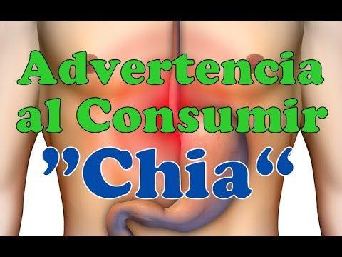¡¡ ADVERTENCIAS !! SOBRE El CONSUMO DE LA CHÍA Contraindicaciones Riesgo...