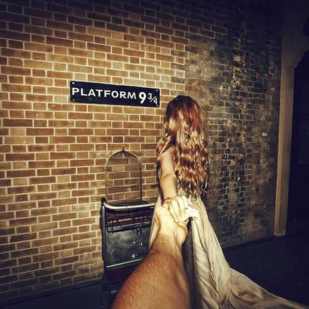 Best Follow Me Images On Pinterest Follow Me To Murad - Guy takes awesome photos girlfriend tugs along