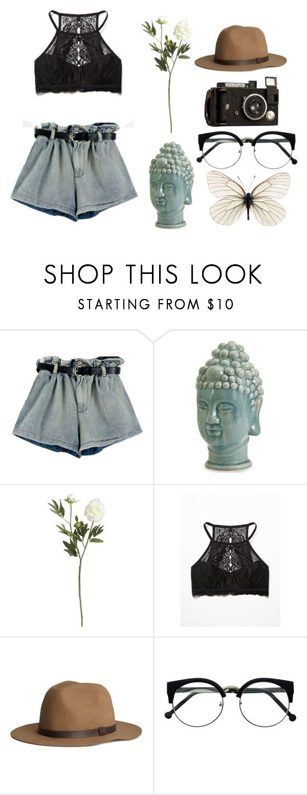 """""But I must admit it, that I would marry you in an instant [...]"" - The lumineers."" by xoxoaudreyxoxo ❤ liked on Polyvore featuring Home Decorators Collection, Crate and Barrel, Free People, H&M, vintage, Summer and black"