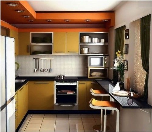 15 lindas fotos de cocinas peque as remodelaci n de for Ideas para remodelar una cocina pequena