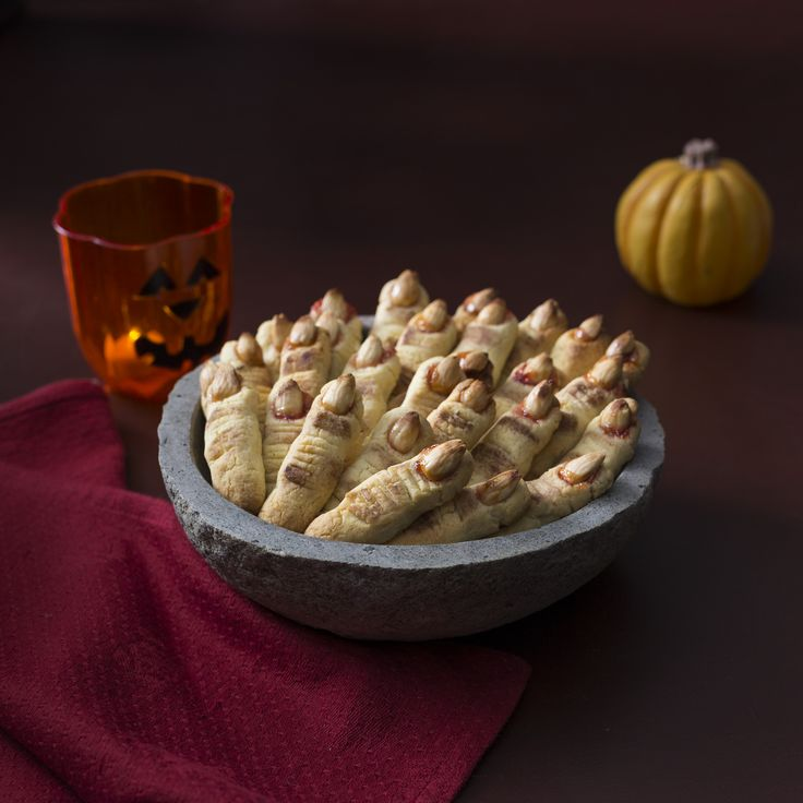 Halloween scotch fingers | Recipes to Love Thermomix ebook