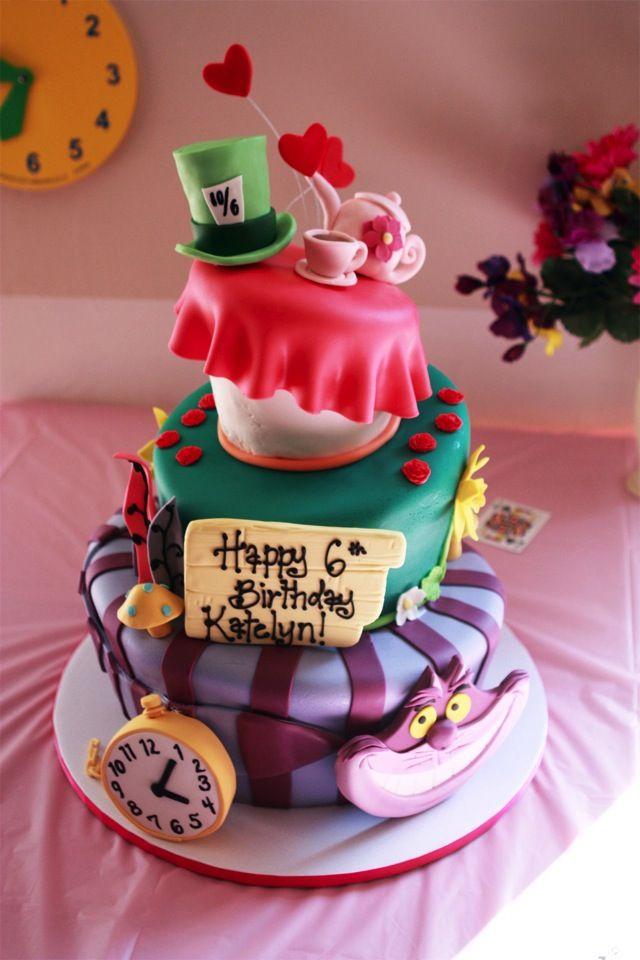 alice in wonderland cake pops   Splendid Alice in Wonderland Cake was made by Jana's Creative Cakes ...
