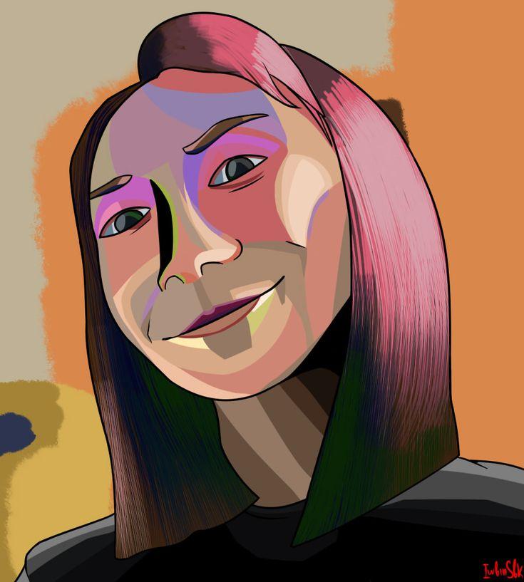 Portrait of Valeria Leynih by iwbinsbk on DeviantArt