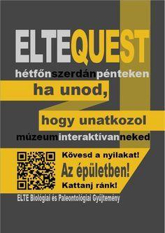 Szabó Annamária - Elte Quest plakátok - sárga