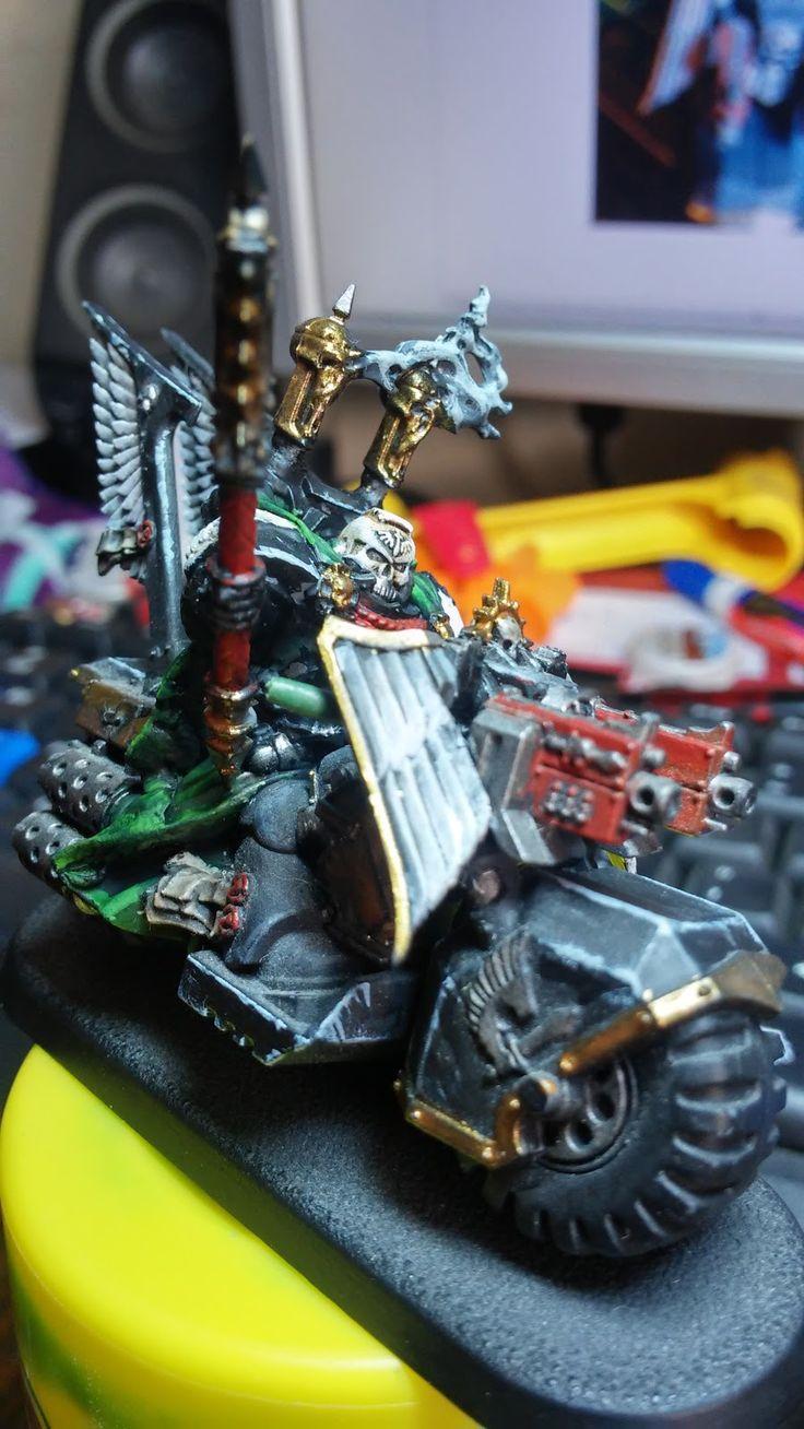 crusade against great beasts: More black paint