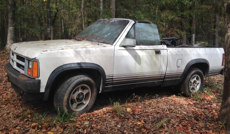 rugged ragtop 1989 dodge dakota convertible. Cars Review. Best American Auto & Cars Review