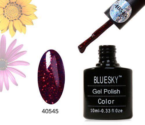 Bluesky 40545 RUBY SPARKLE - UV LED Gel Soak off Nail Polish 10ml by Bluesky, http://www.amazon.co.uk/dp/B00B7PSC3Y/ref=cm_sw_r_pi_dp_fqEKsb119TK89