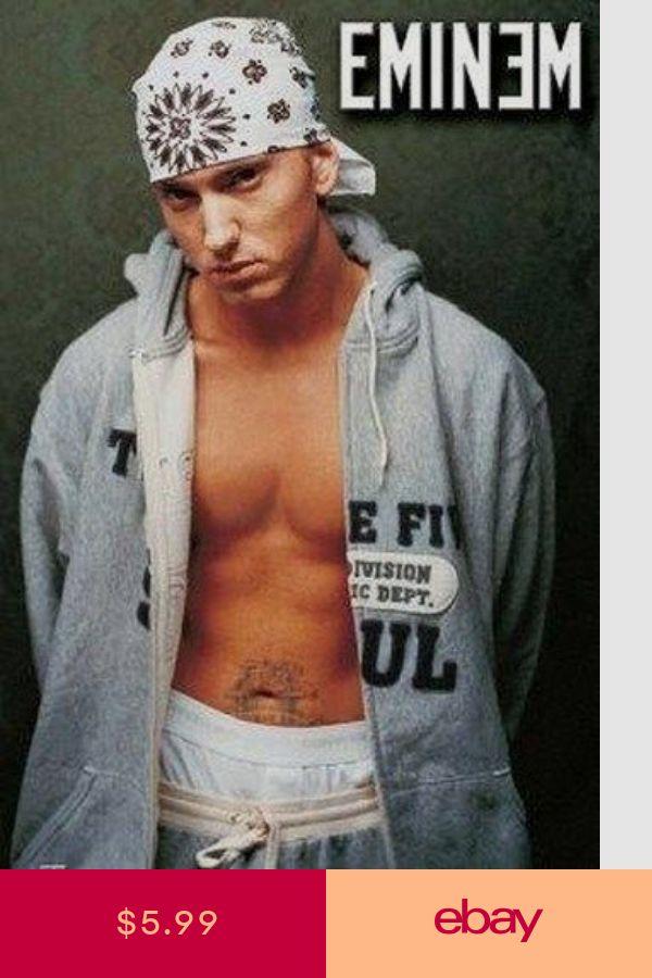 Art Posters Art ebay Eminem, Vagalume, Música rap