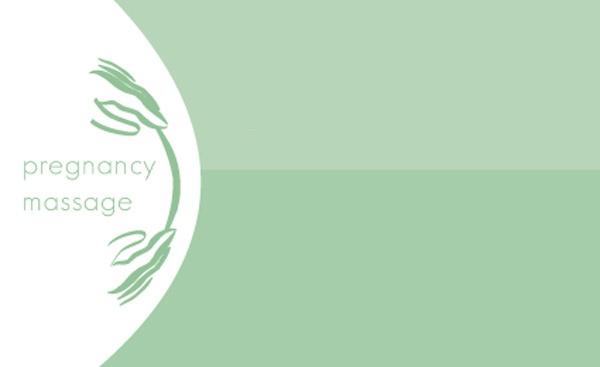 Pregnancy Massage (business card). [2008]