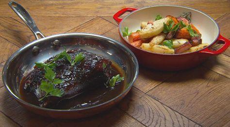 Beef Pot Roast by Gary Mehigan http://tenplay.com.au/channel-ten/masterchef/recipes/beef-pot-roast