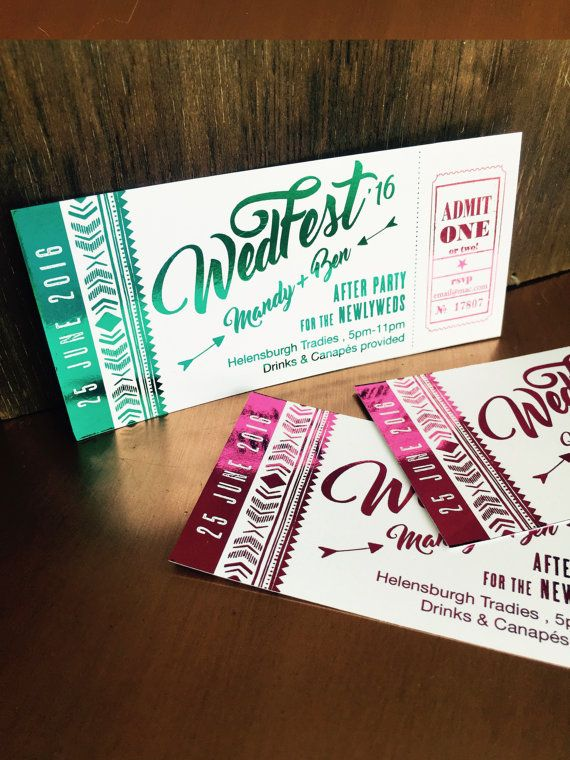 Boho WedFest After Wedding Party by aLITTLEsmallTALK on Etsy