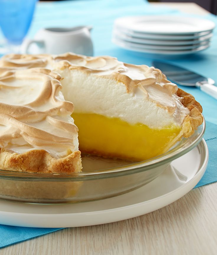 Fresh lemon juice and toasted meringue make the best Creamy Lemon Meringue Pie.