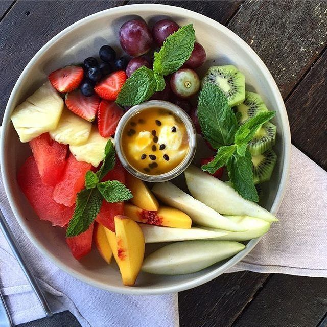 """""""Fruit salad...yummy, yummy!"""" We love the look of @urbanpantrymanuka's latest creation. What's on the menu for your breakfast today? #visitcanberra"""