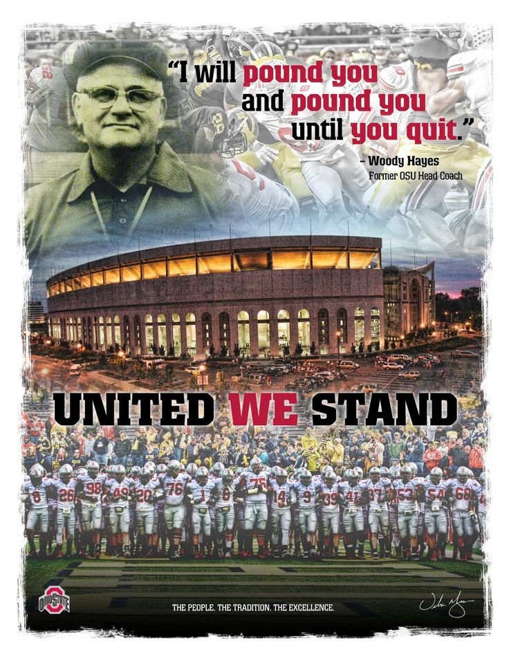 Ohio State Coach Woody Hayes - history, famous quotes, all time record, photo gallery