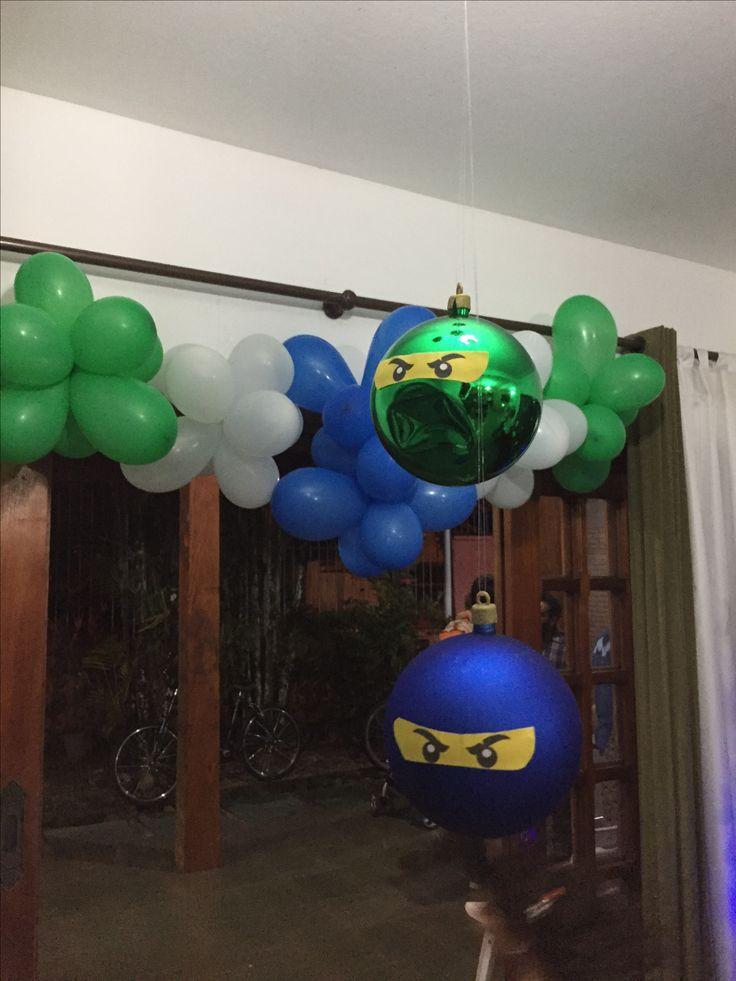 Ninja Go Party - enfeites