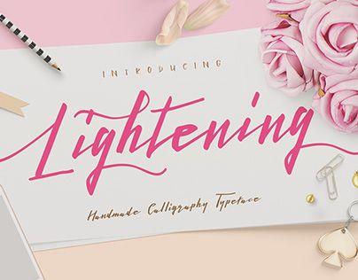 "Check out new work on my @Behance portfolio: ""Lightening Script"" http://be.net/gallery/34488081/Lightening-Script"