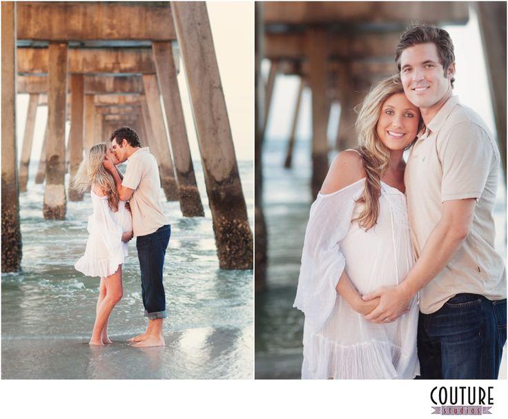 Maternity Photographers in Jacksonville FL - Beach Maternity Session