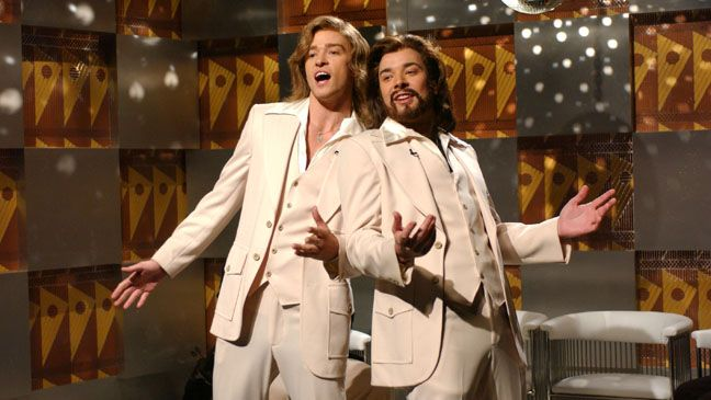 Justin Timberlake & Jimmy Fallon as the BeeGees 'Saturday Night Live' . best ever!