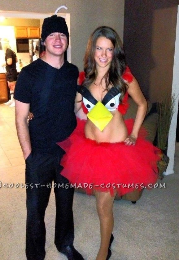 Sexy Angry Birds Halloween Costume... This website is the Pinterest of costumes