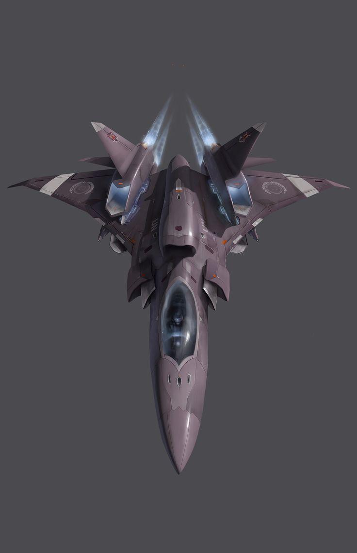 Starthroat (Star Fighter Plane)  Designed by Chi-Chun Liu