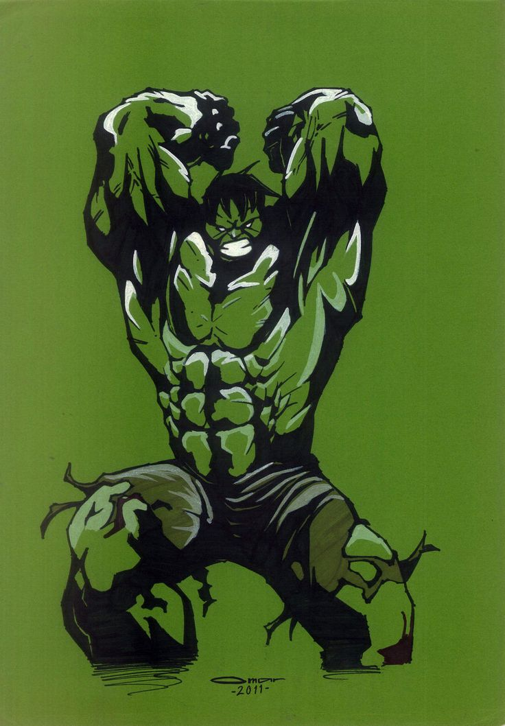 The Hulk 2 by omarmsamy.deviantart.com