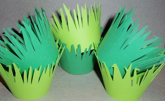 lion king birthday cupcake holders or hats