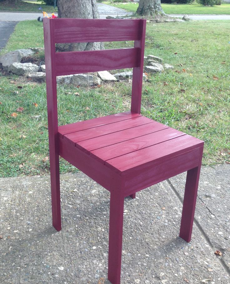 Toddler chair | MY Woodworking Projects | Pinterest | Woodworking