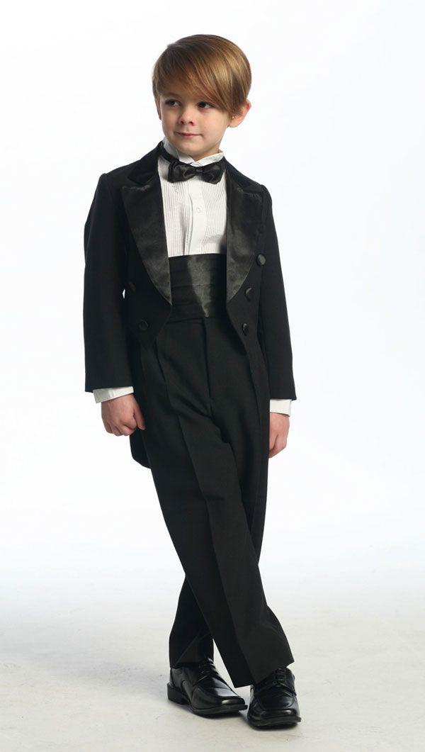 Boy's Tuxedo with Tail - Boy Tuxedos
