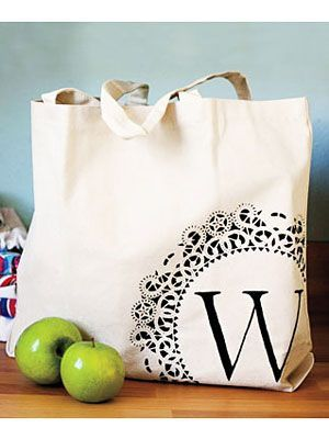 Make this personalized bag using this step-by-step guide. #crafts #DIY