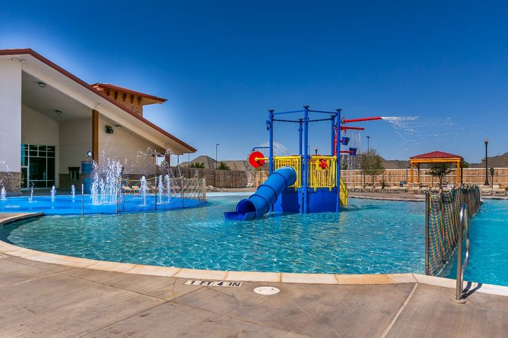 The outdoor pool at Amarillo Town Club's Hillside location in the Colonies neighborhood.