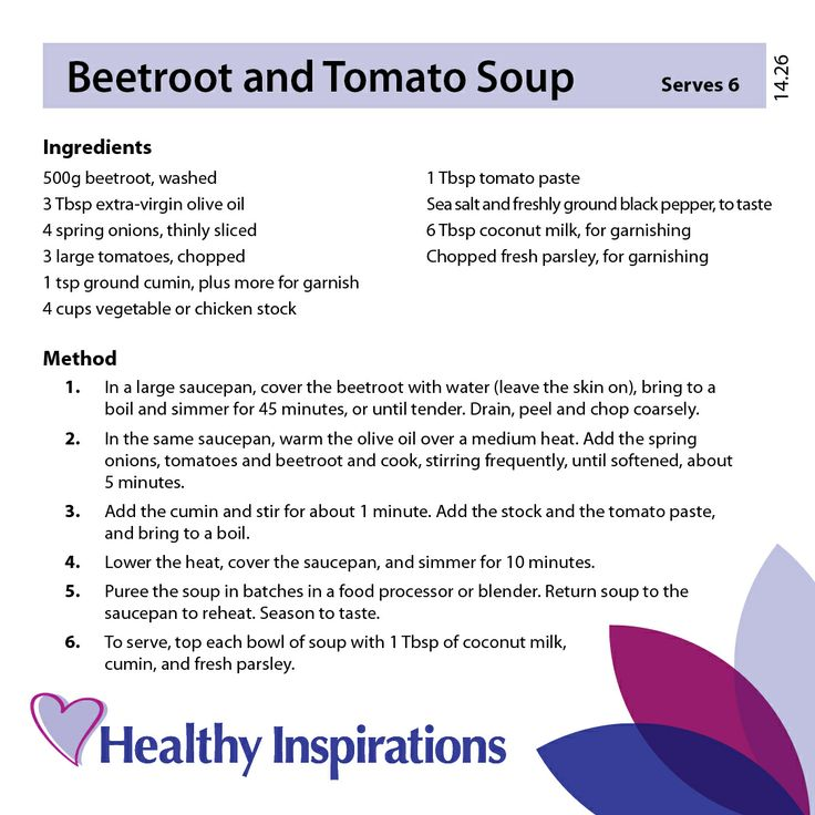 Beetroot and Tomato Soup #healthyrecipes #healthyinspirations