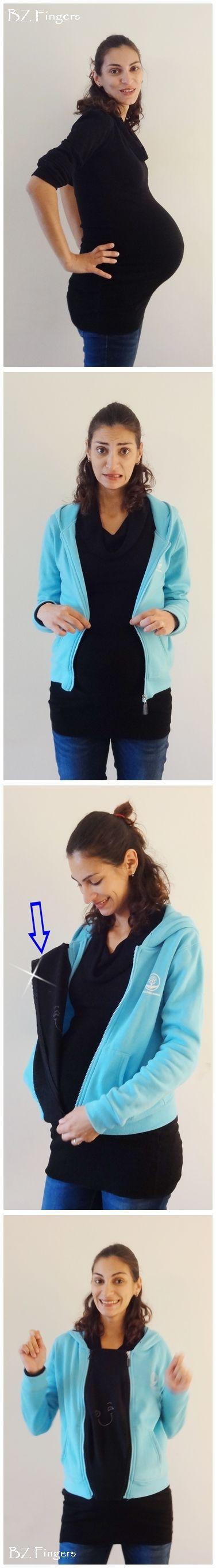 Universal #Pregnancy #Maternity Jacket Insert https://www.etsy.com/shop/BZfingers