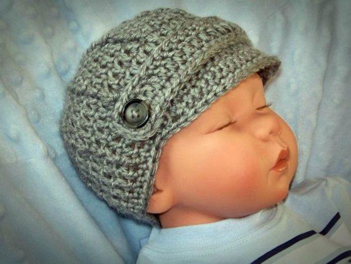 Snap Crochet Hat Pattern Brim Manet For Photos On Pinterest