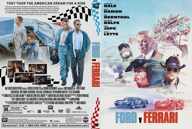 Ford V Ferrari 2019 Dvd Custom Cover Fordvferrarimovie2019 Fordvferrarifullmovie Fordvferrarifreemovie Ferrari Dvd Covers Dvd Cover Design