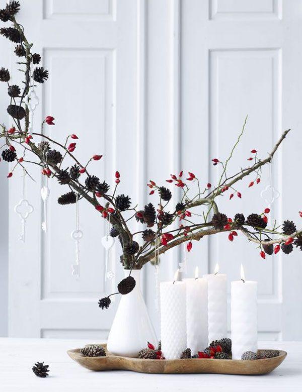 Classic red minimalist Christmas inspirations | My Cosy Retreat