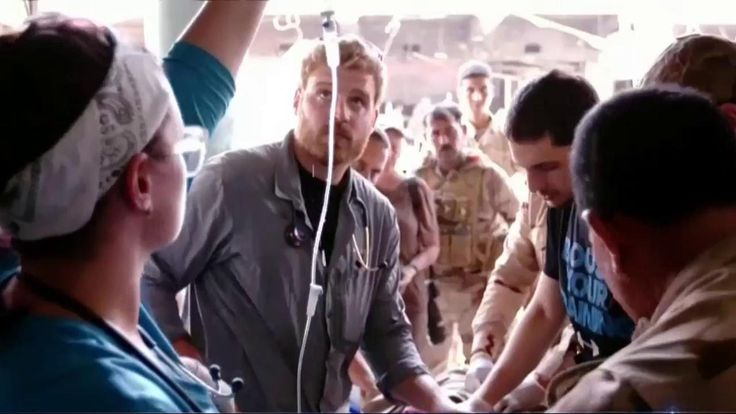 Pete Reed, a 28-year-old EMT from New Jersey, dropped everything to move to Mosul and make it his life's mission to treat the wounded in this Iraqi city.
