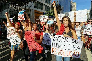 Taís Paranhos: O Golpe e a violência contra a Mulher