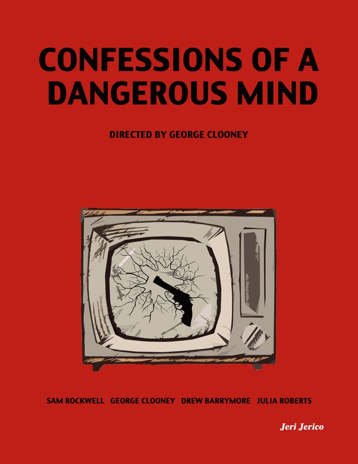 Confession of a dangerous mind  Directed by George Clooney Starring George Cloon... 1