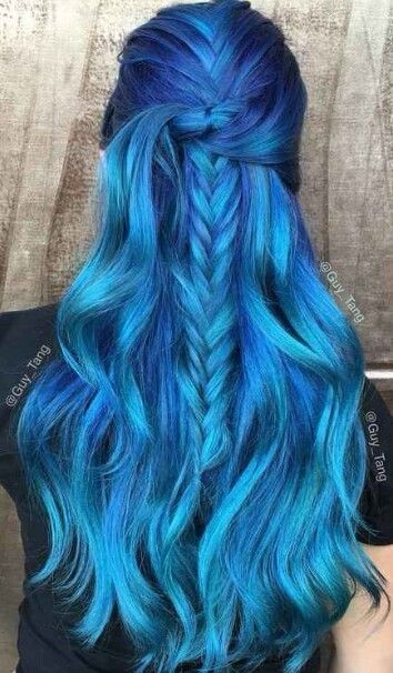 25 best ideas about blue hair colors on pinterest blue hair dyes crazy colour hair dye and dyed hair - Blue Color Hair