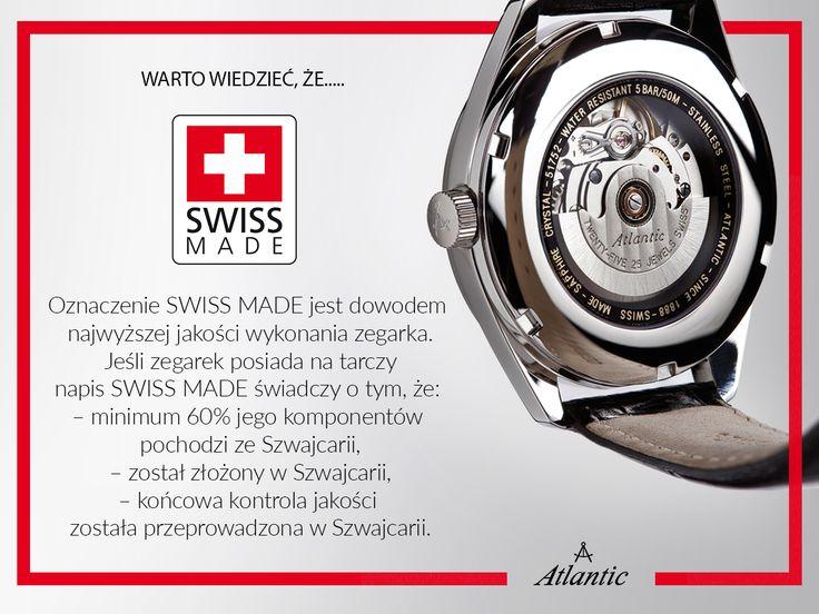 Czym jest SWISS MADE?