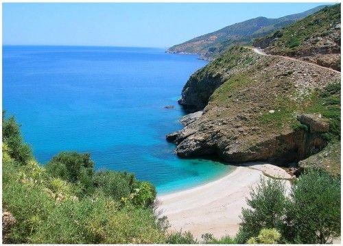Άγιος Δημήτριος - παραλίες στην Νότια Εύβοια