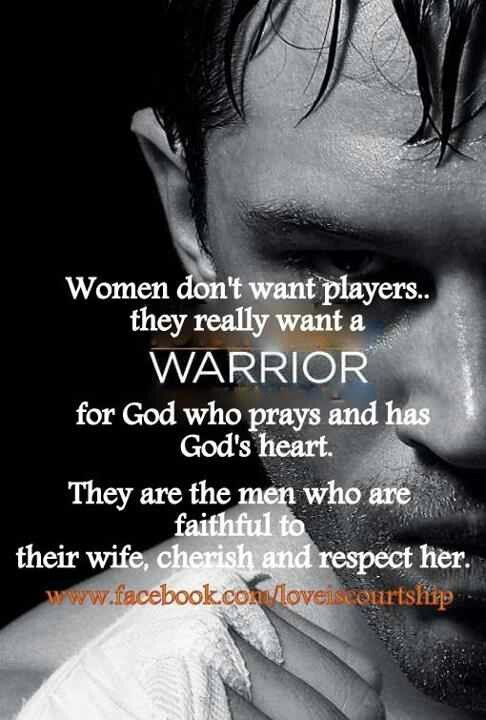 Men of God...so true. Thanks TA =)