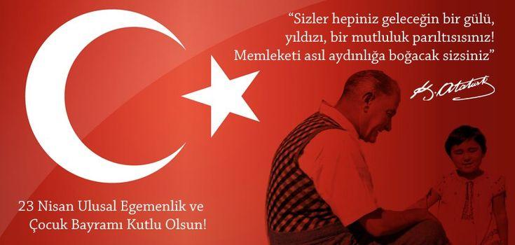 23 Nisan Atatürk Şiirleri / 23 Nisan Çocuk Bayramı Kompozisyonları / 23 Nisan Ulusal Egemenlik Bayramı Konuşma Metinleri